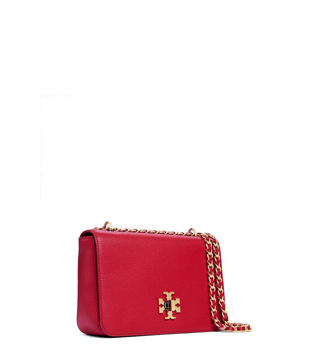 58b1331c0 Lyst - Tory Burch Mercer Adjustable Shoulder Bag in Red