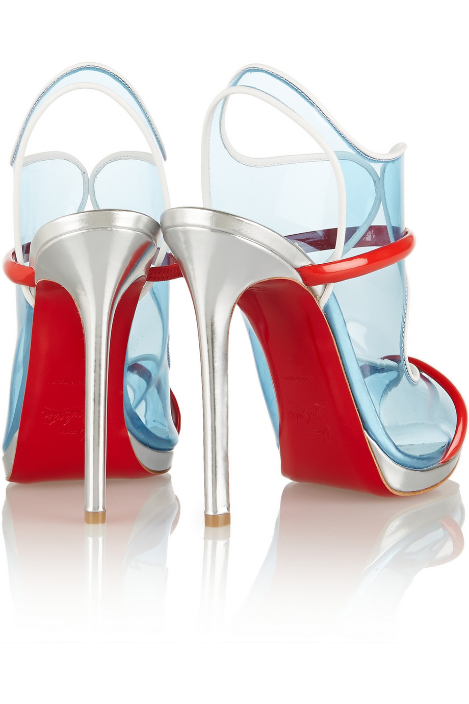 blue christian louboutin sneakers - Artesur ? christian louboutin leather and patent leather sandals ...