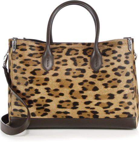 ralph lauren animal leopard print calf hair leather. Black Bedroom Furniture Sets. Home Design Ideas