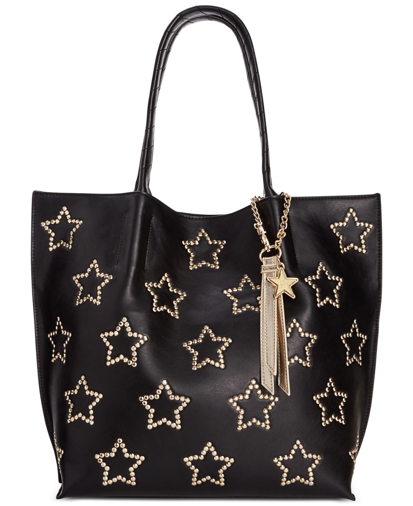 Lyst Betsey Johnson Star Tote In Black