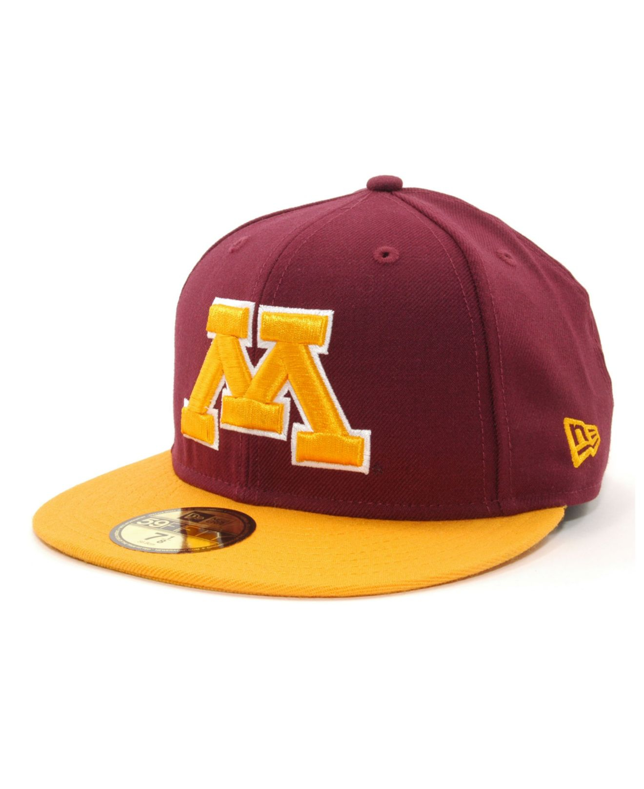 online store a4f0f 0f5d9 ... low cost lyst ktz minnesota golden gophers 2 tone 59fifty cap in red  for men 35ed7