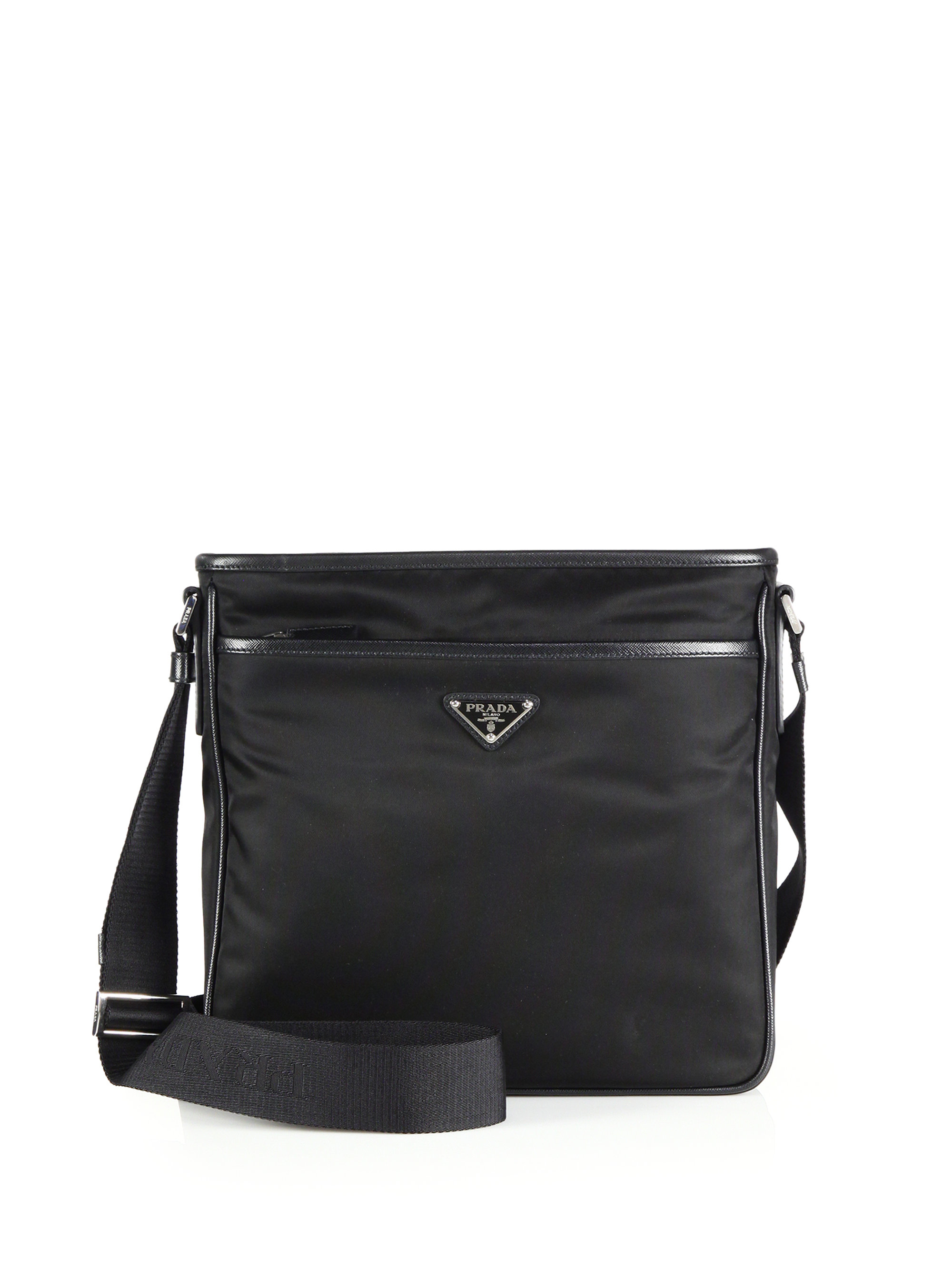 prada wallet purple - Prada Nylon Crossbody Bag in Black for Men | Lyst