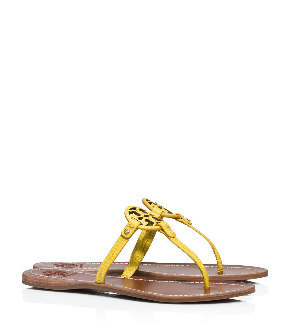 6a7c3d6c1ff Tory Burch Mini Miller Flat Thong Sandal - Lyst