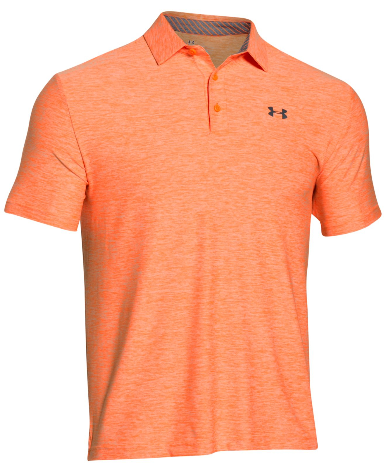 under armour men 39 s playoff performance golf polo in orange