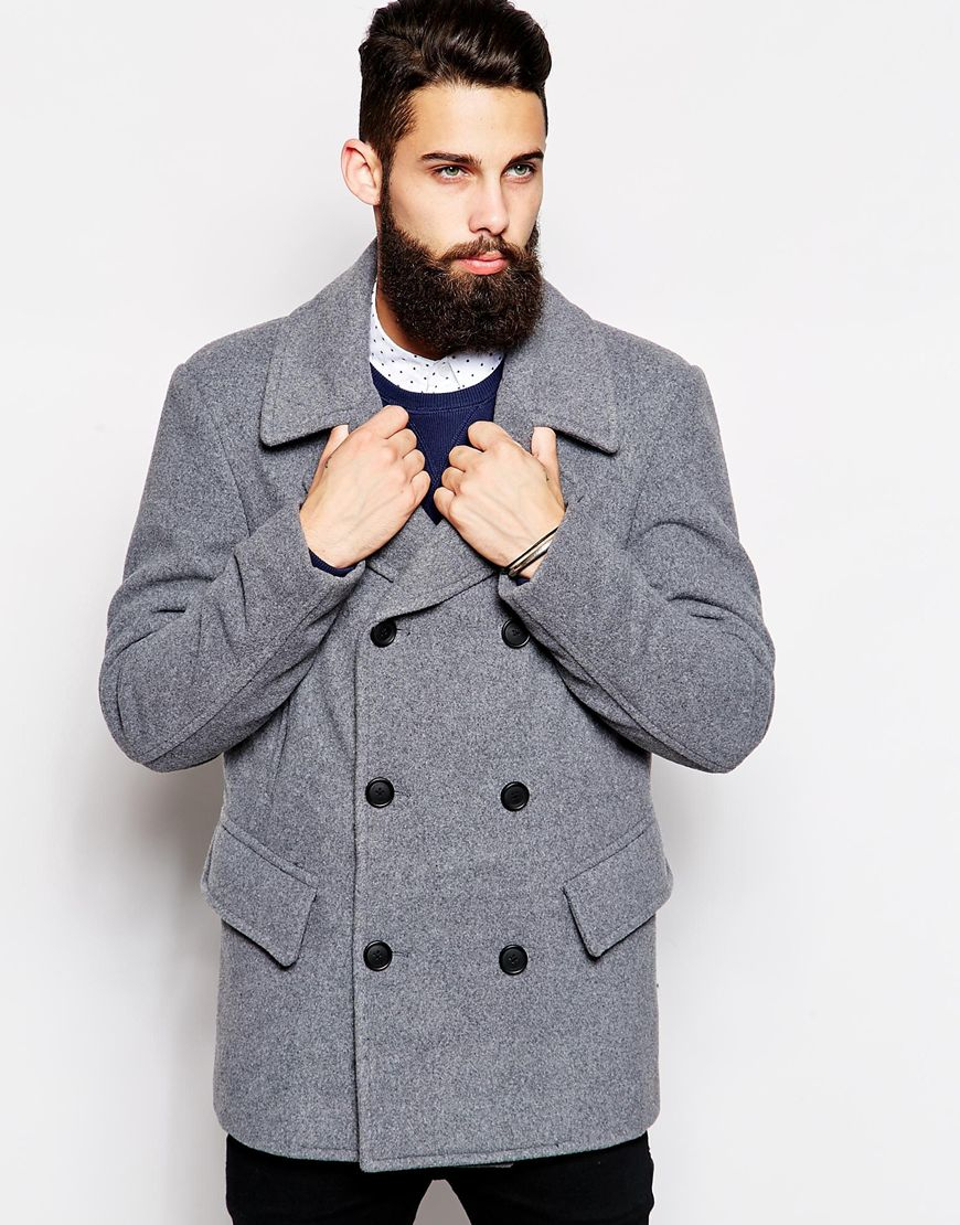 Light Pea Coat