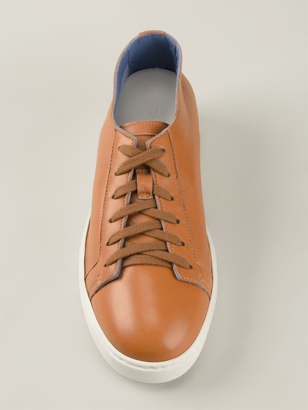 Sneakers brown Santoni xOH4aey
