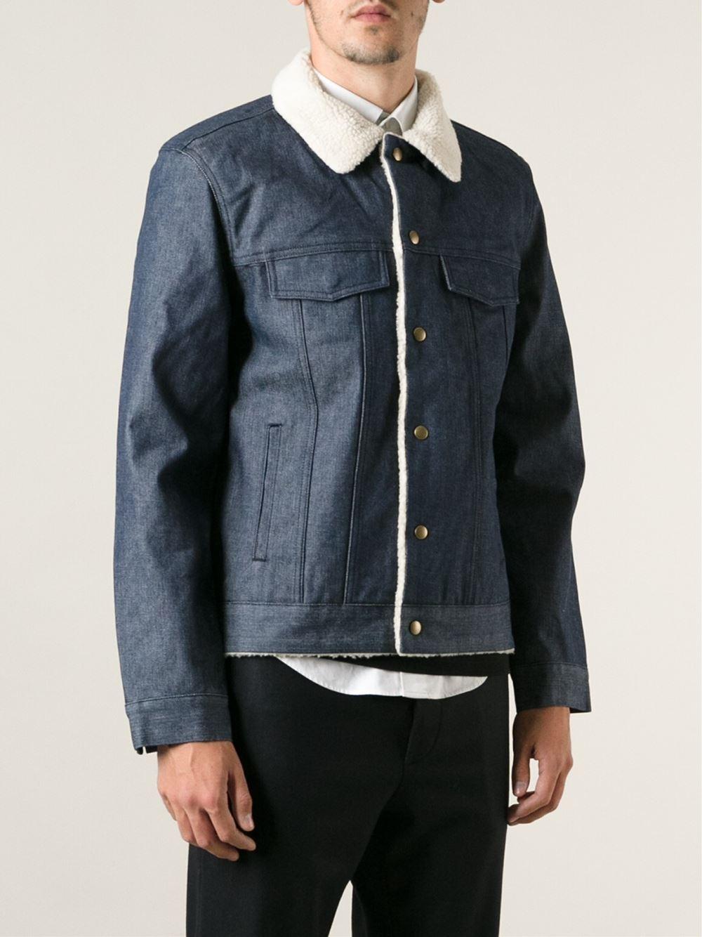 Apc denim jacket sale – Modern fashion jacket photo blog