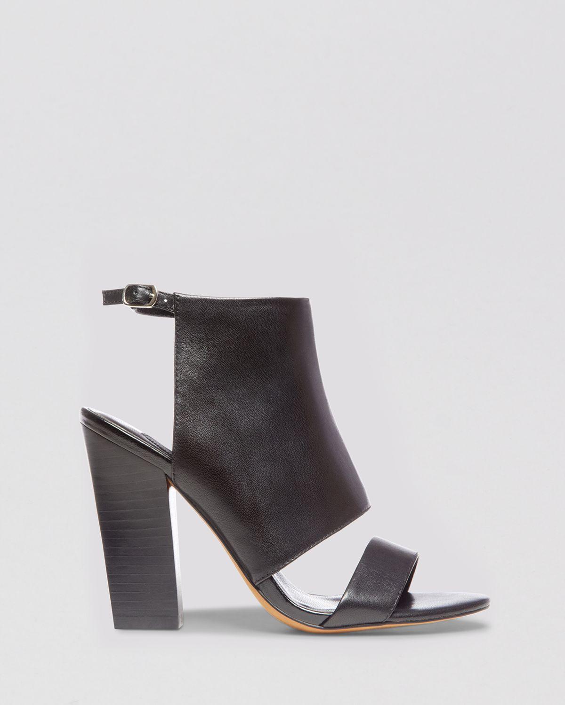 steven by steve madden open toe sandals citty block high. Black Bedroom Furniture Sets. Home Design Ideas