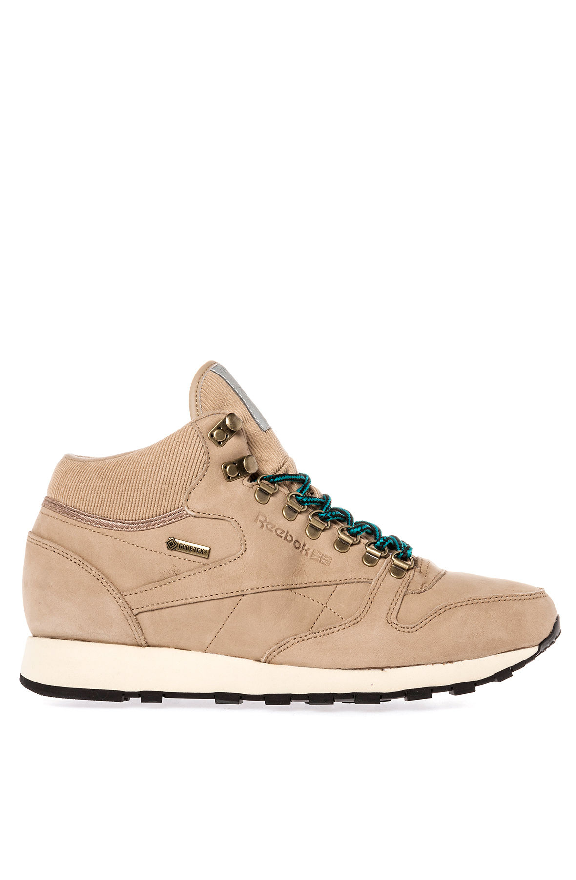 f8faf9b1c40 Lyst - Reebok The Classic Leather Mid Gore-Tex Sneaker in Brown for Men