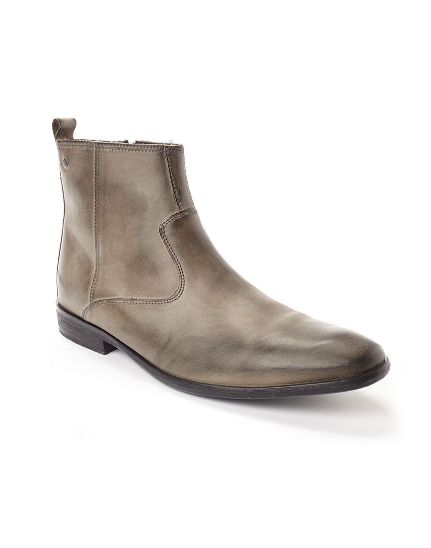 base london basil chelsea boots in gray for men grey lyst. Black Bedroom Furniture Sets. Home Design Ideas