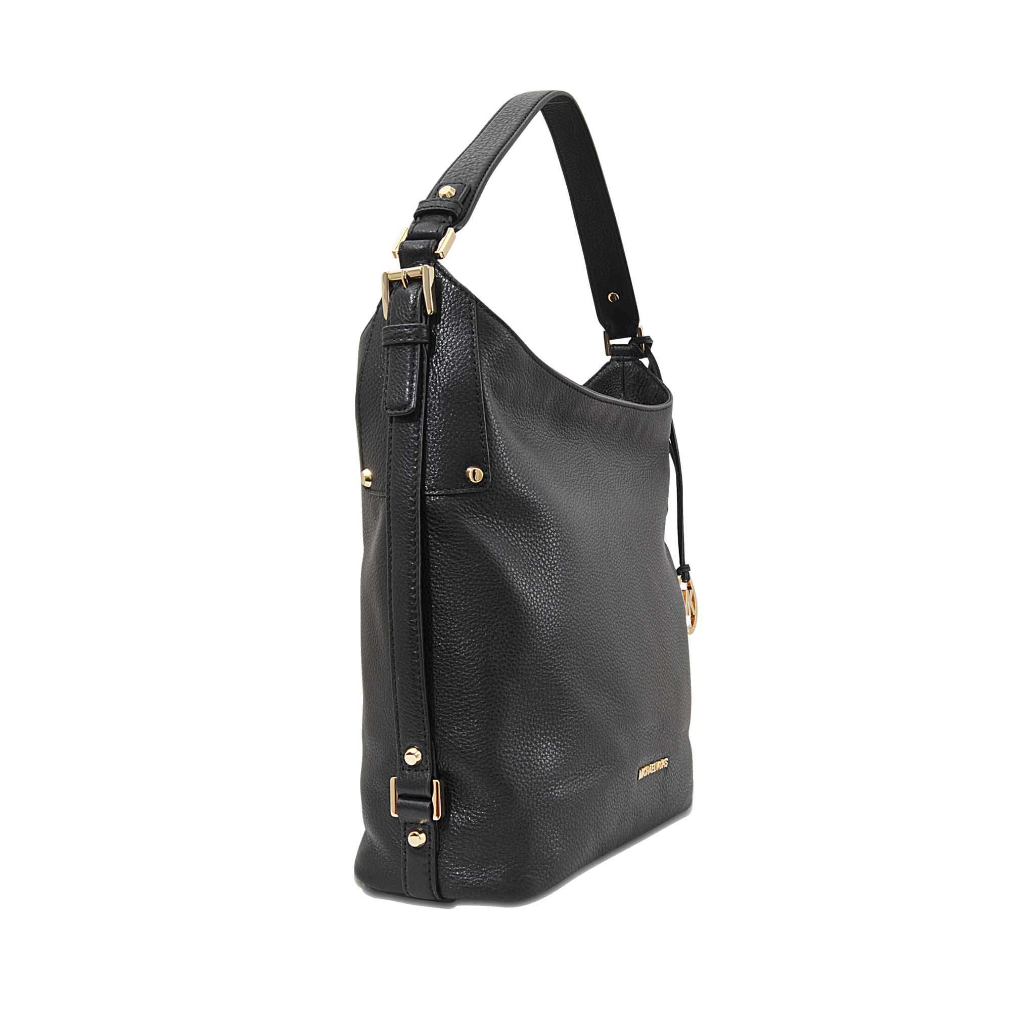 f3a3c9f3d8e5 Lyst - MICHAEL Michael Kors Bedford Medium Belted Lg Shoulder Bag in ...