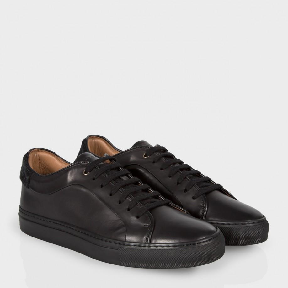 Tan Suit With Black Shoes