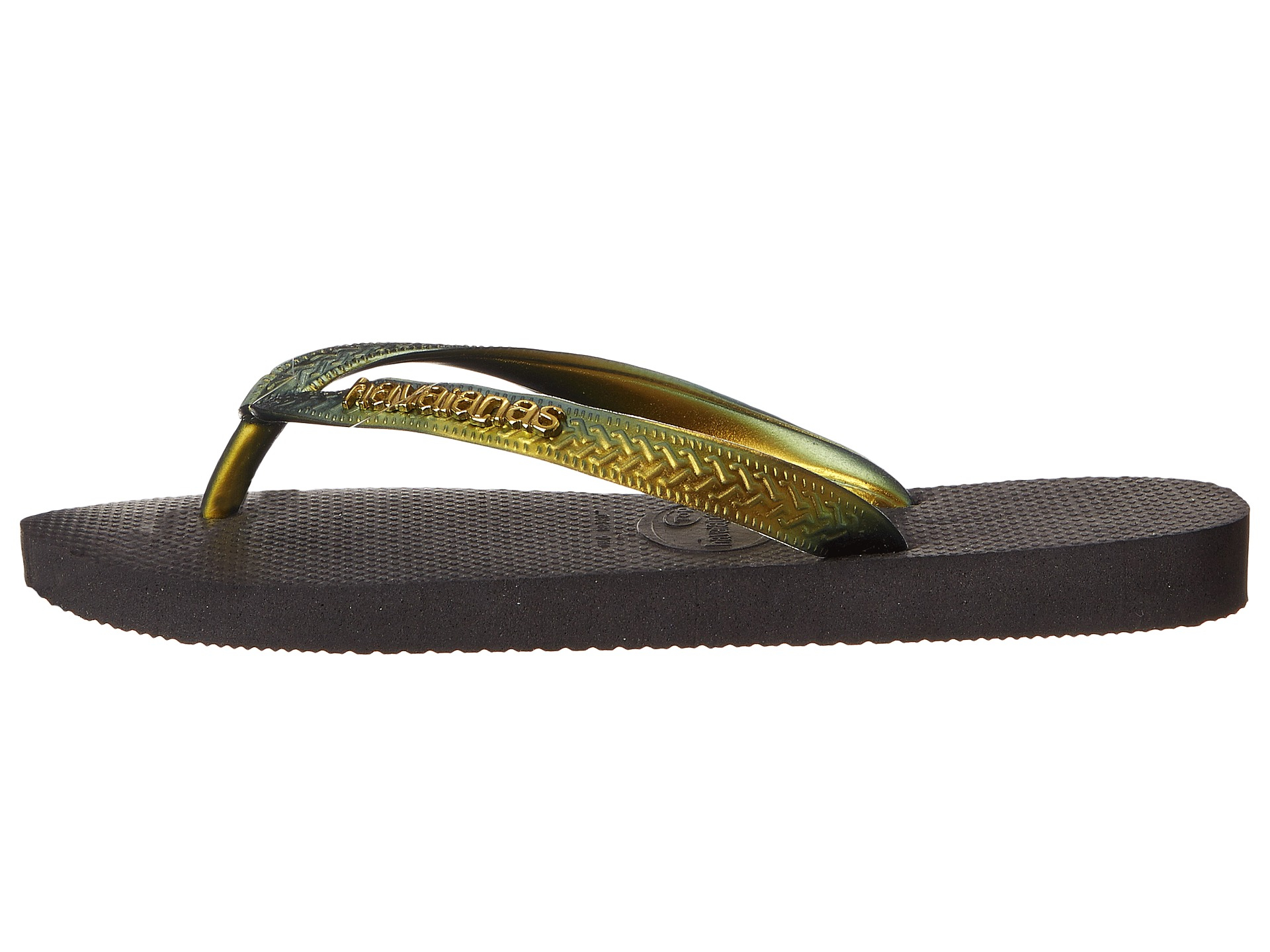f43b4b512 Lyst - Havaianas Top Furta Cor Flip Flop in Metallic