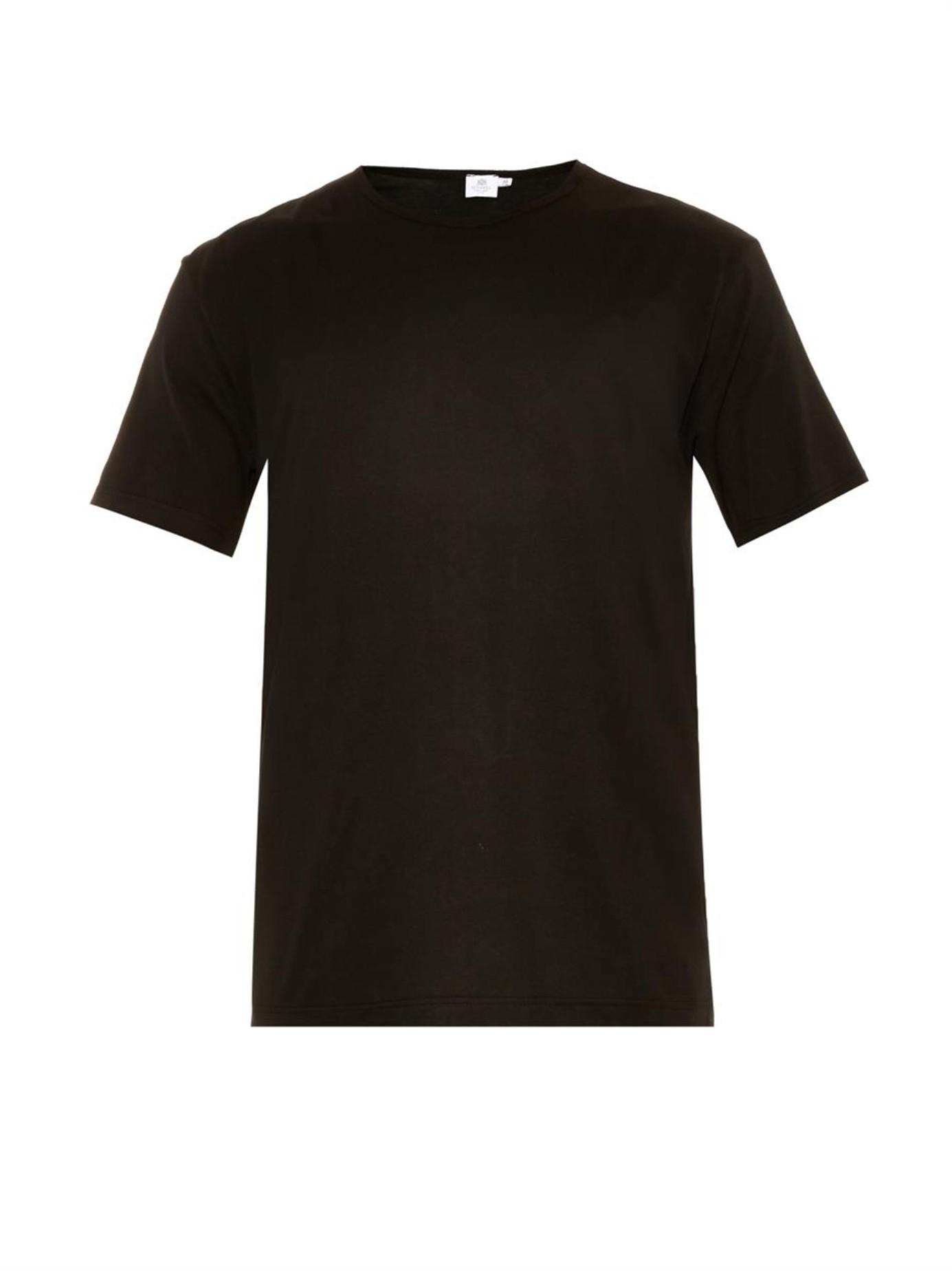 Desain t shirt jkt48 - Klein Round Neck Black T Shirt Pack Of 2 In Black For Men Lyst Gallery
