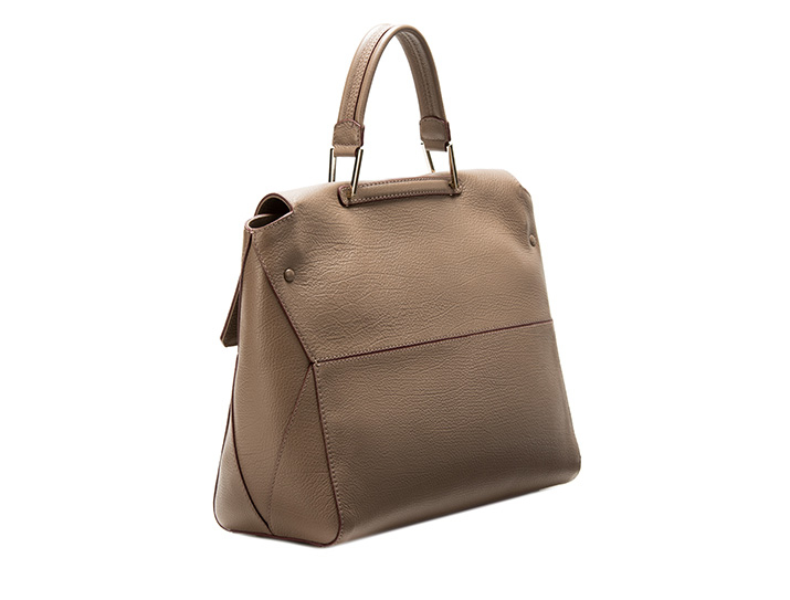 f64a955d340739 Furla Top Handle L Color Daino in Brown - Lyst