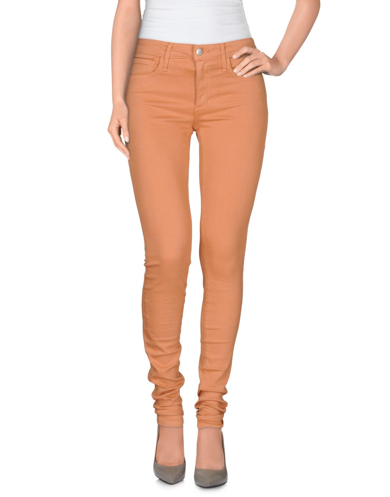 Joeu0026#39;s jeans Denim Pants in Orange | Lyst