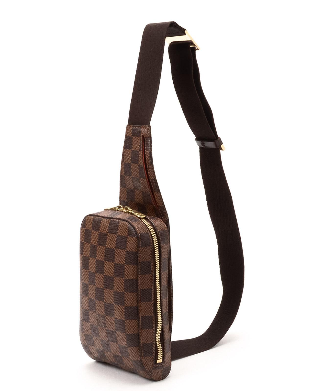 Lyst - Louis Vuitton Damier Ebene Geronimos Bag in Metallic de77b966007f7