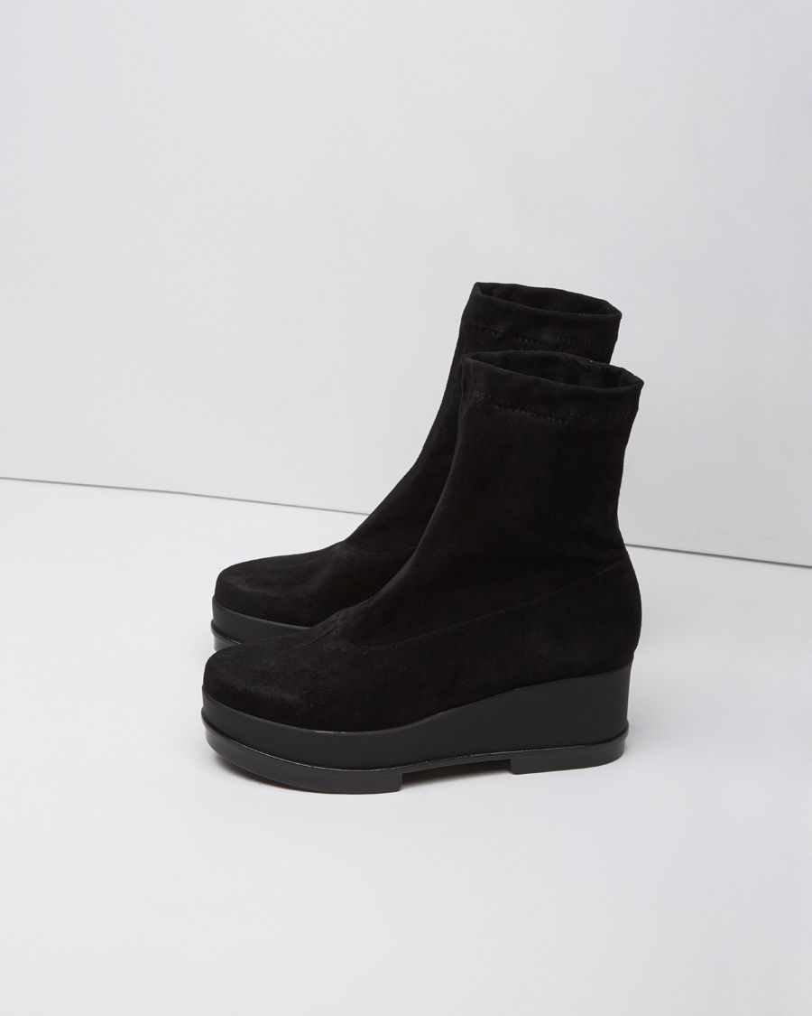 sale new arrival how much for sale Robert Clergerie Leather Wedge Boots outlet explore gYQD4y