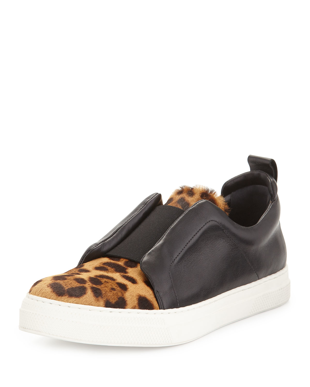 Pierre Hardy Slider leopard-print sneakers 9oFszvFamw