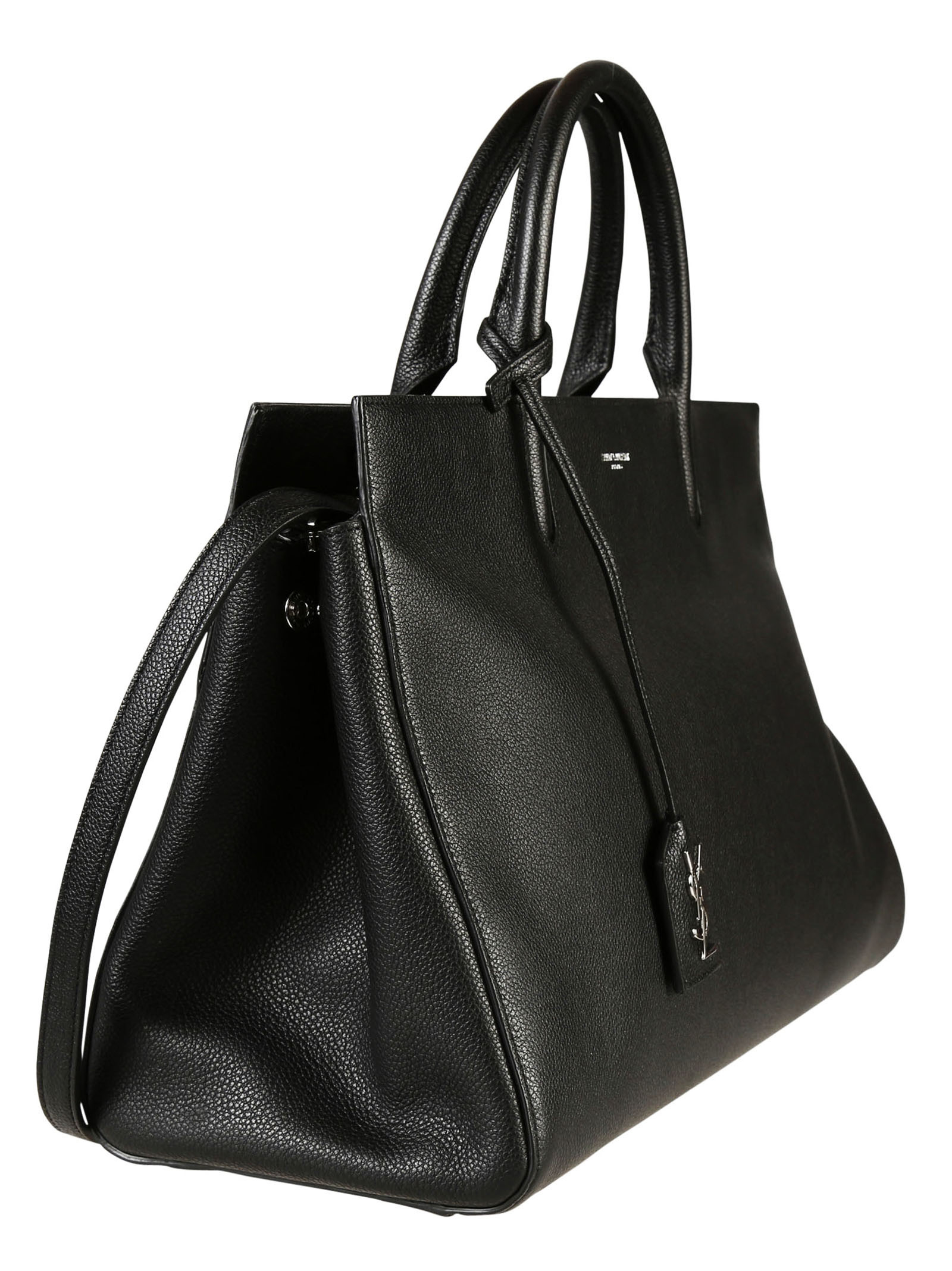 Cabas Rive Gauche Tote Bag, Dark Beige