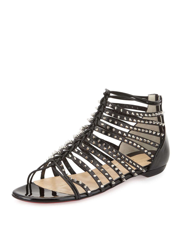 christian louboutin cora sandals