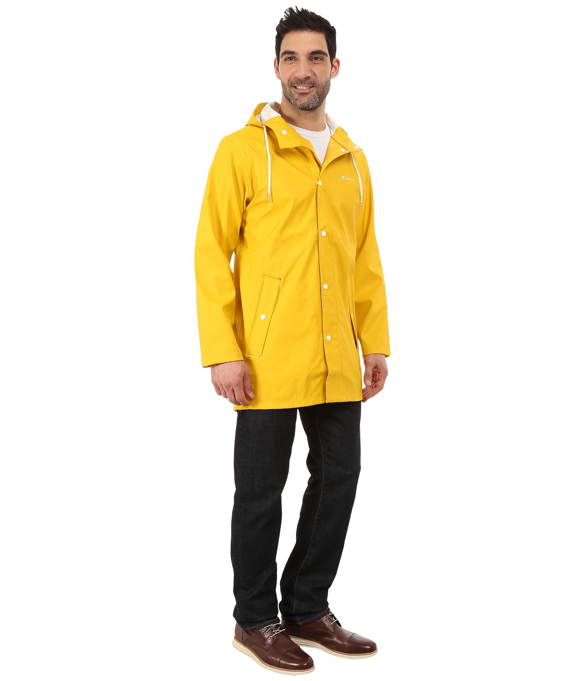615e9198 Tretorn Wings Rain Jacket in Yellow for Men - Lyst