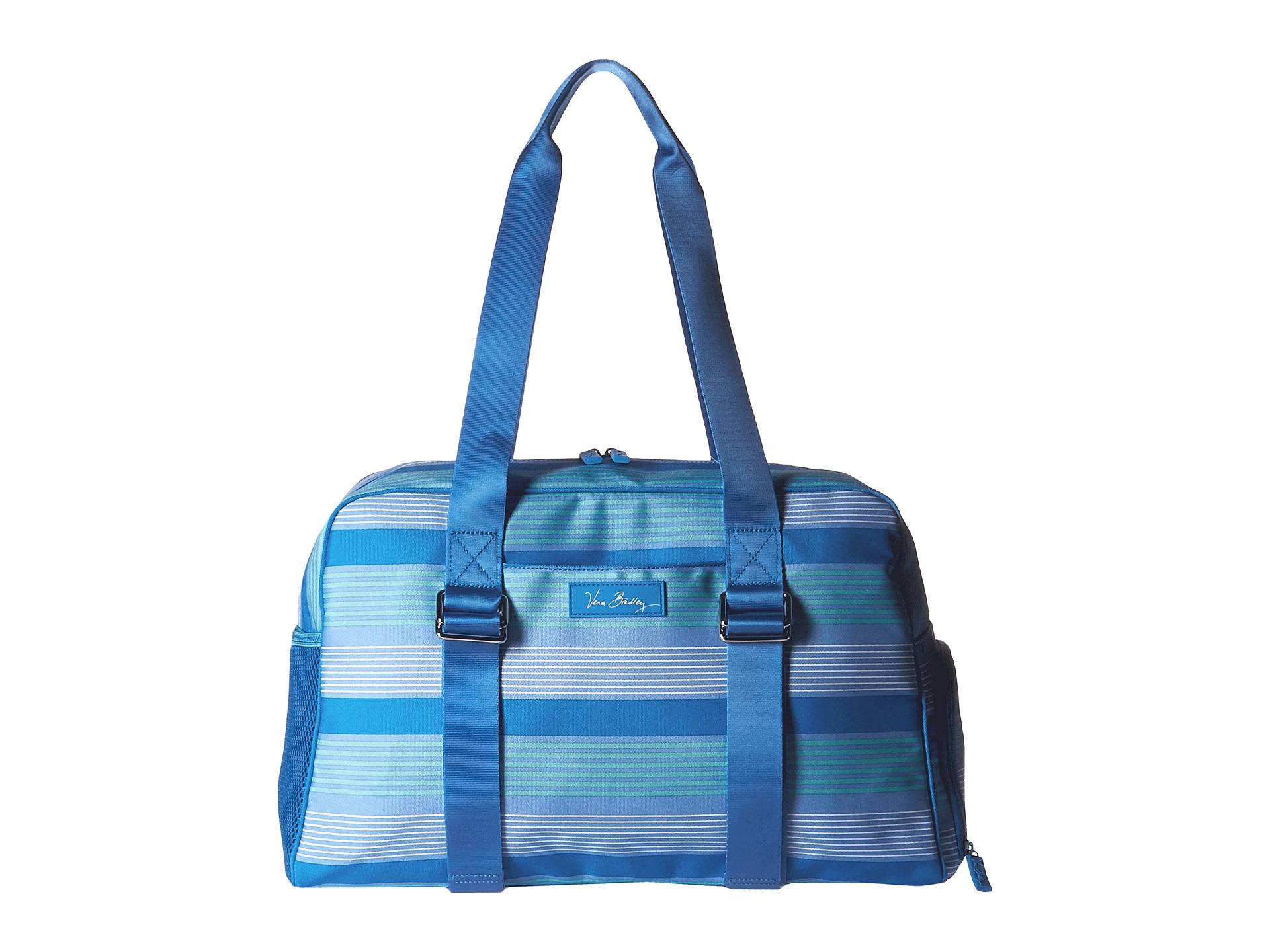 Lyst - Vera Bradley Lighten Up Yoga Sport Bag in Blue