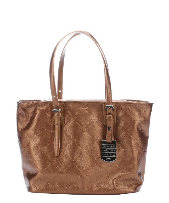 Longchamp Lm Tote Bag Limited Bronze
