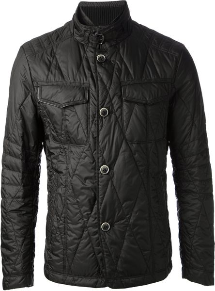 Boss By Hugo Boss Gamay2 Quilted Jacket In Black For Men