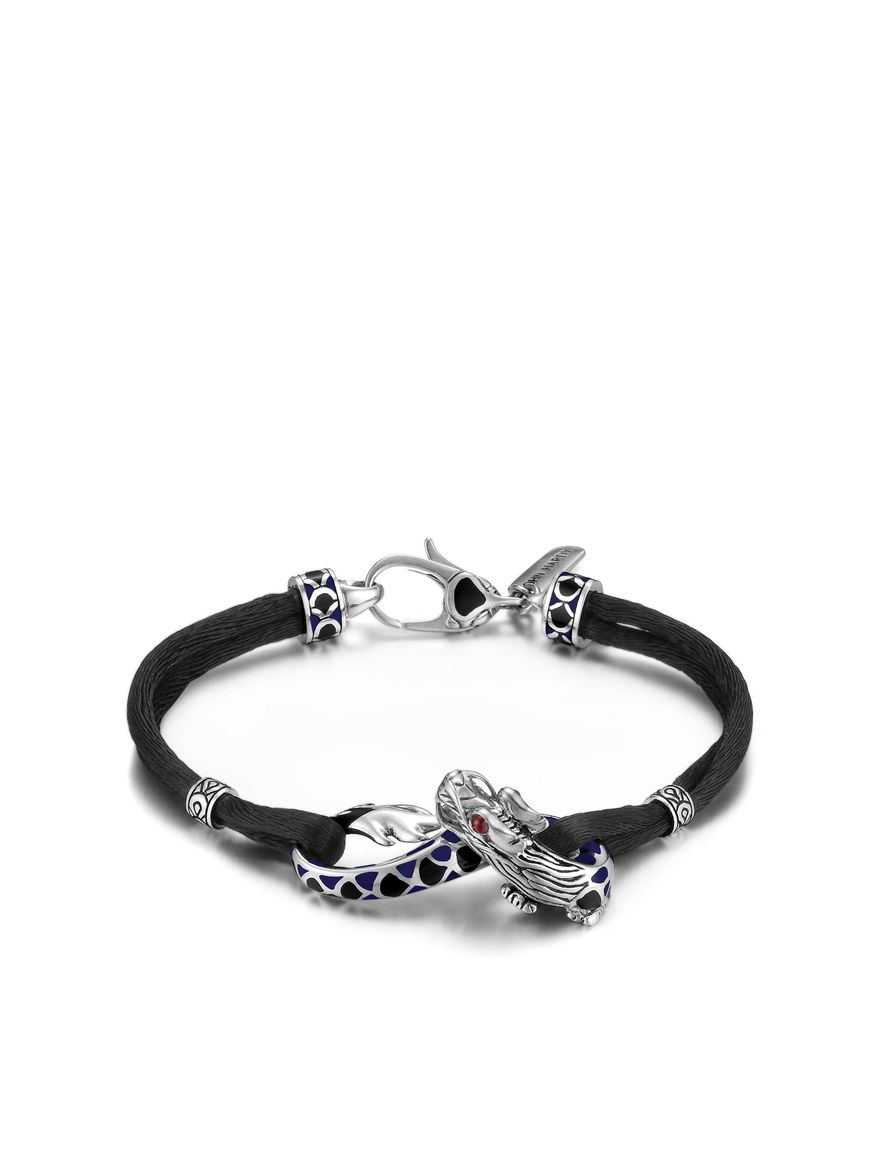 Lyst John Hardy Naga Dragon Station Bracelet In Black