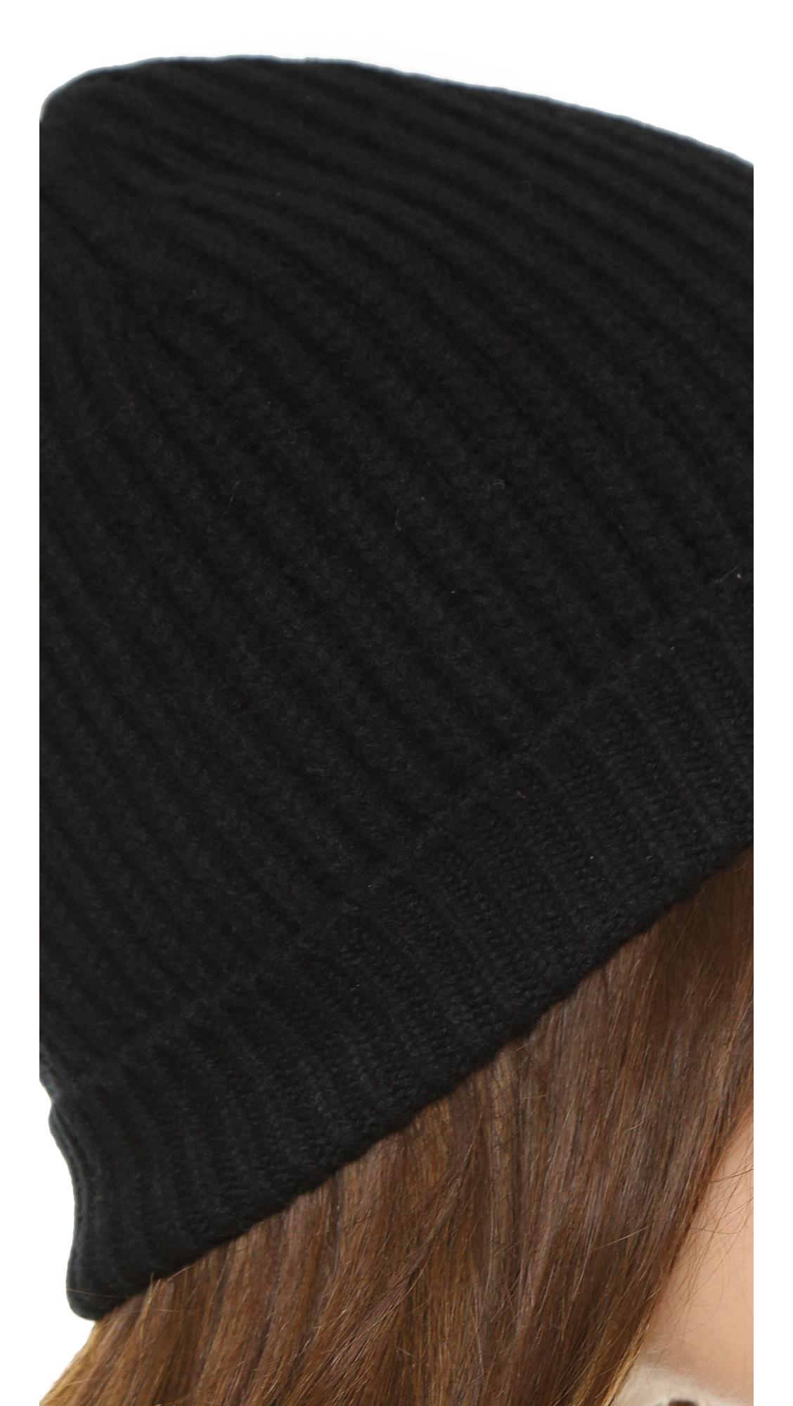 a587a10e77b Lyst - Acne Studios Canning L Rib Hat in Black