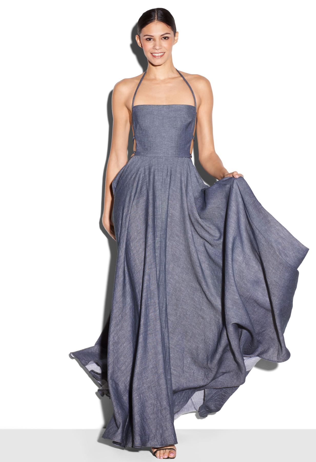 Blue apron dress - Gallery Women S Denim Dresses