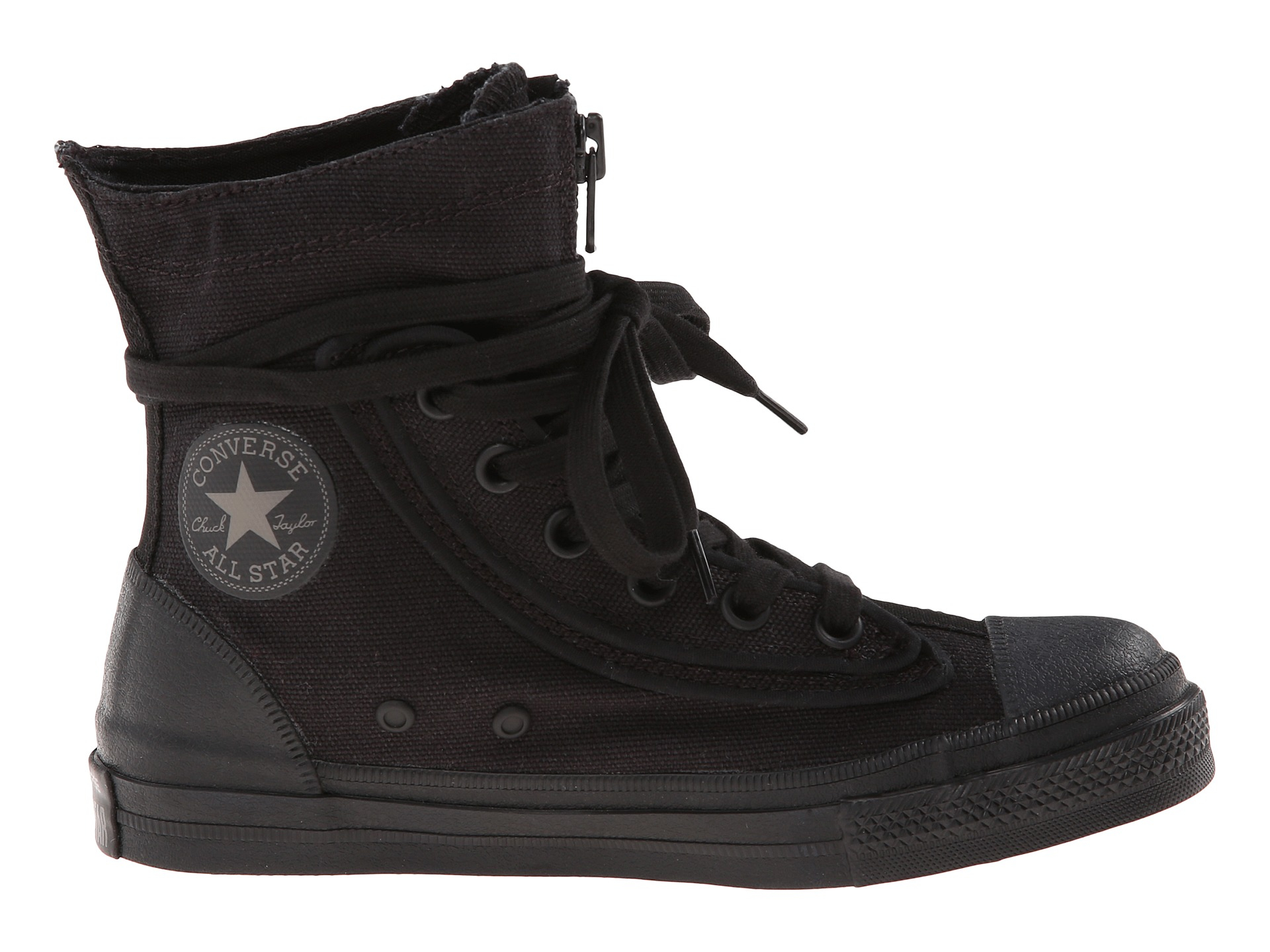 Converse Zipper Shoes
