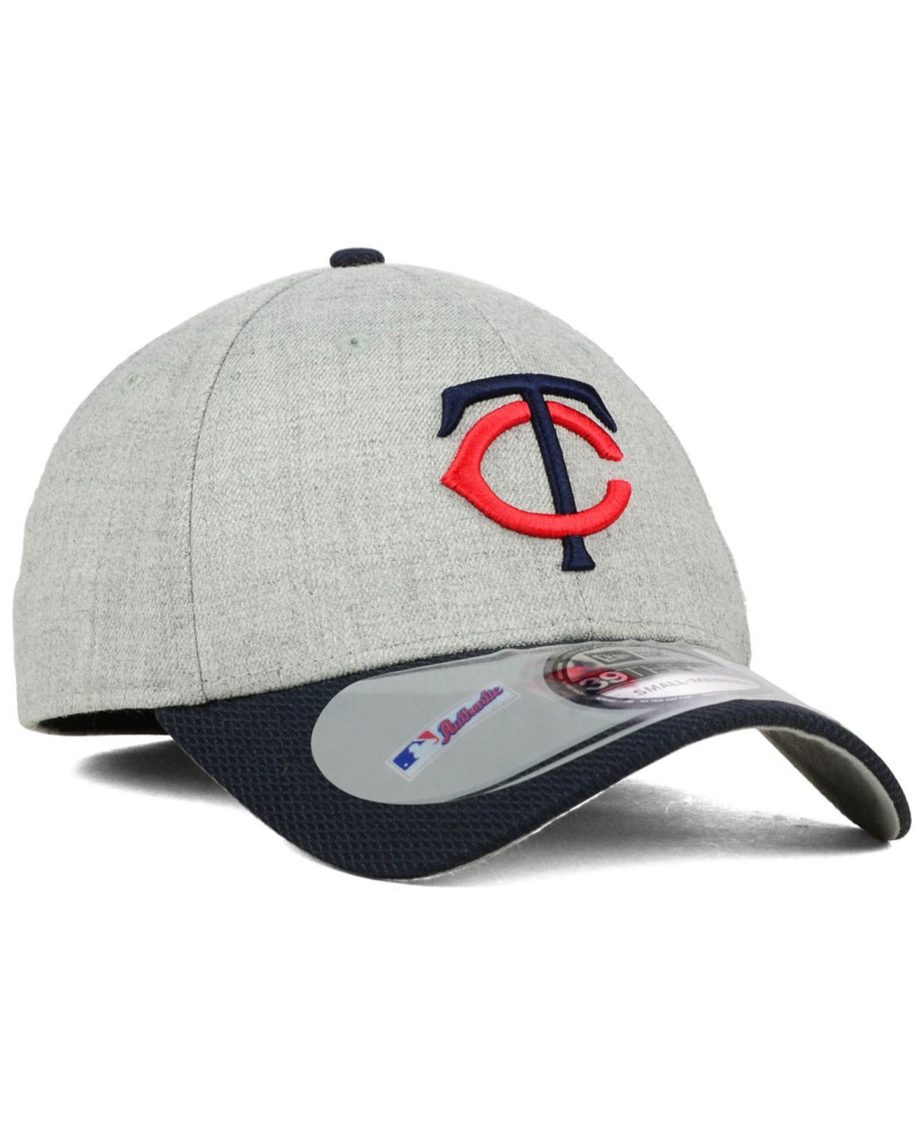 official photos bc368 7a1ab KTZ Minnesota Twins Clubhouse 39Thirty Cap in Gray for Men - Lyst