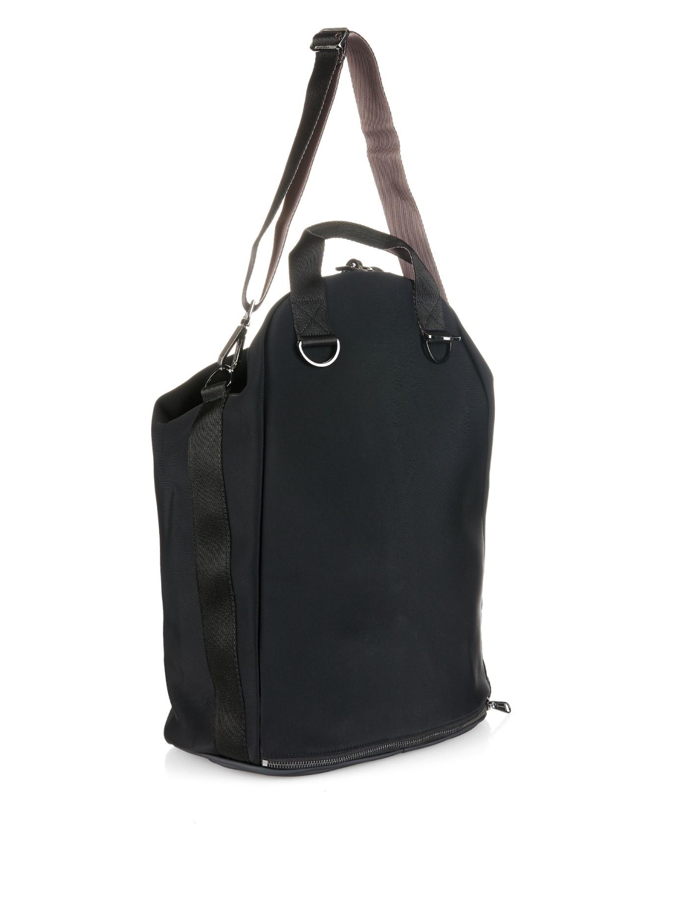Lyst Adidas By Stella Mccartney Neoprene Gym Bag In Black