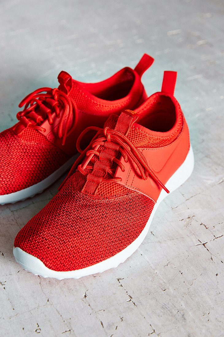 huge selection of 6aef9 c546d ... coupon code for lyst nike womens juvenate textile sneaker in red 25533  c877d