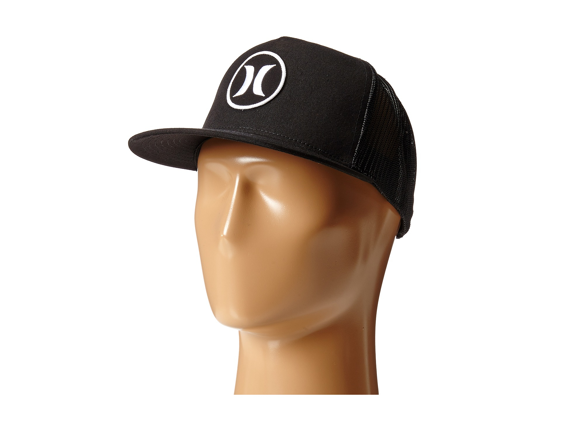 Lyst - Hurley Block Party Movement Trucker Hat in Black for Men 04ee53e8e3f5