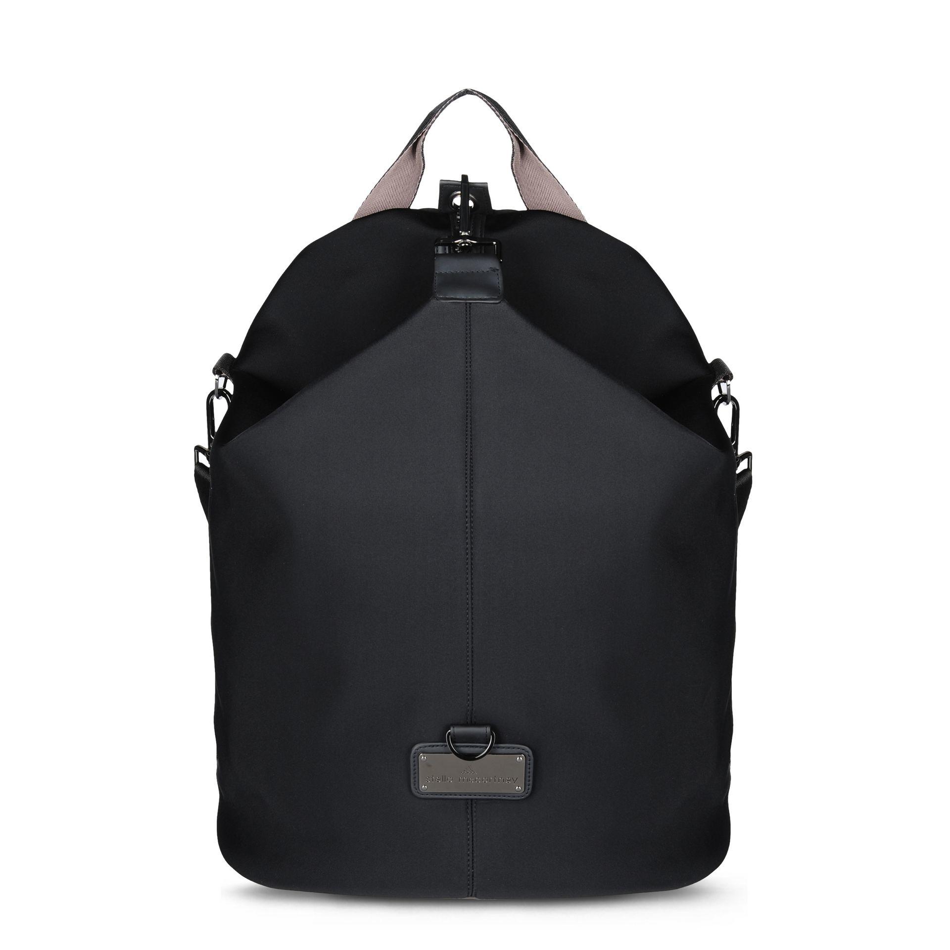 Lyst - adidas By Stella McCartney Studio Neoprene Backpack in Black 60ea7c3156ebf