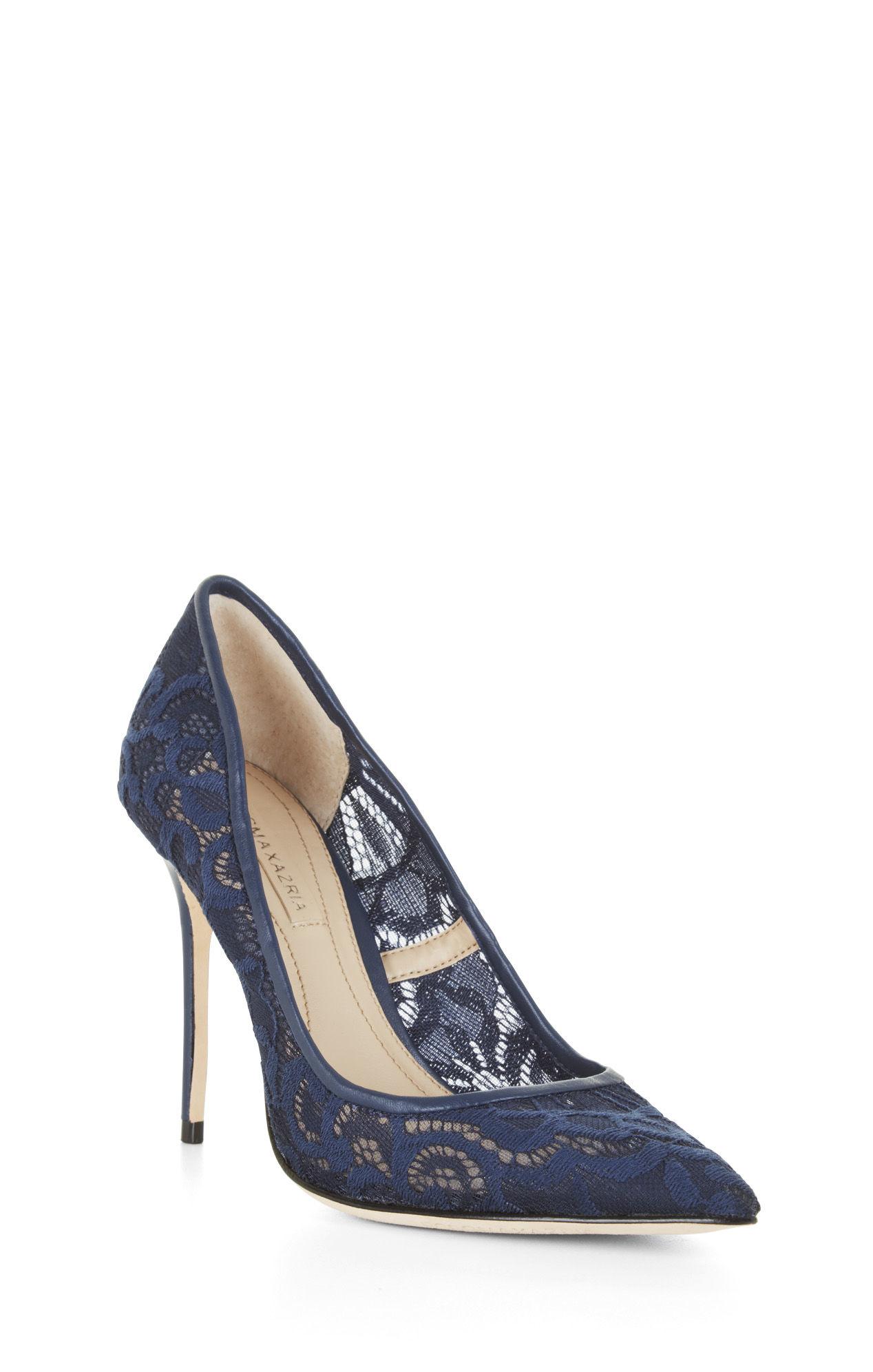 Midnight Blue High Heels