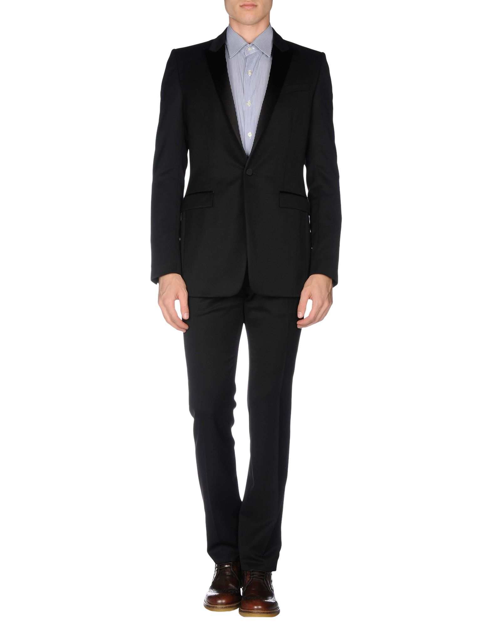 what haircut suits my lyst burberry prorsum suit in black for 3057
