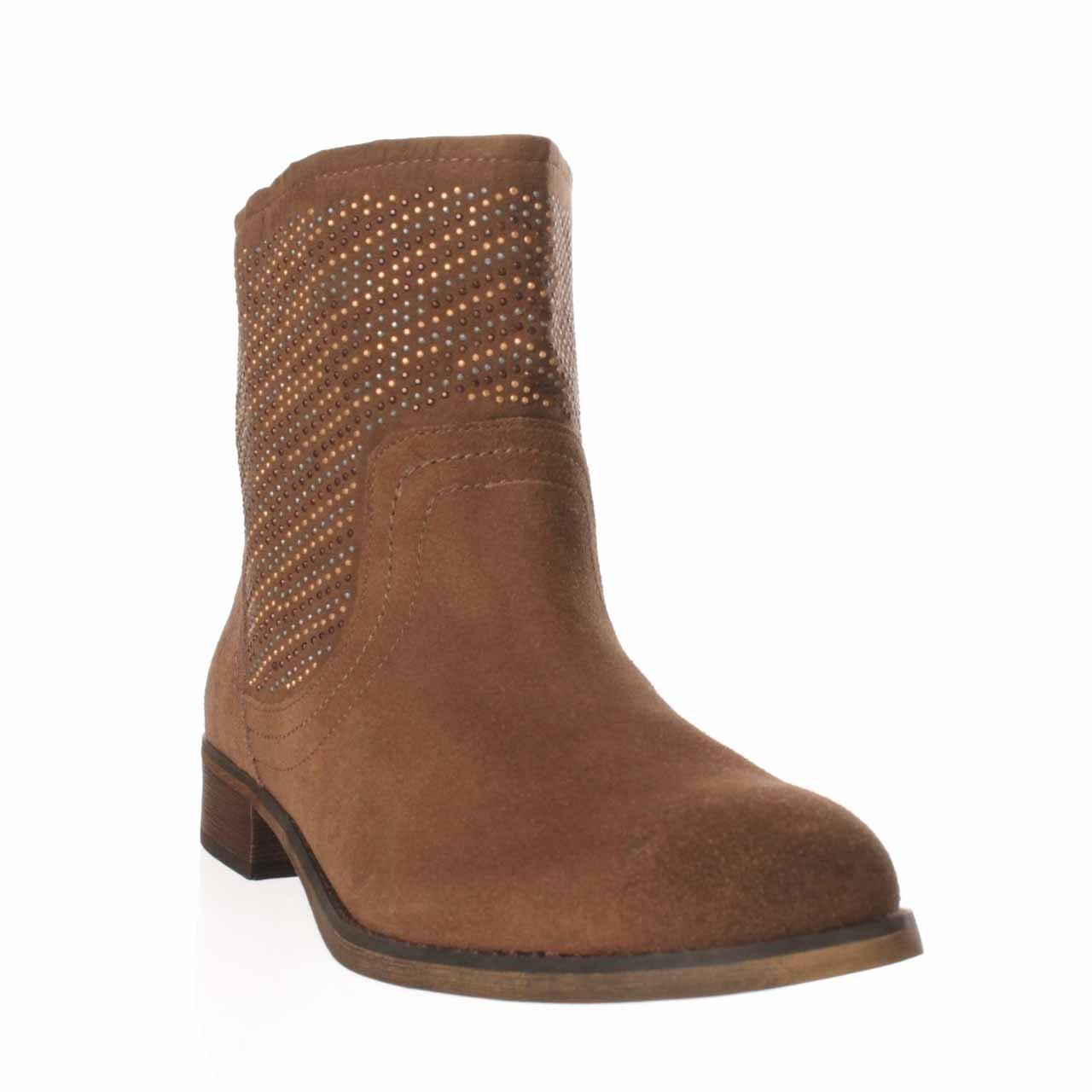 carlos by carlos santana alton ankle boot in brown lyst