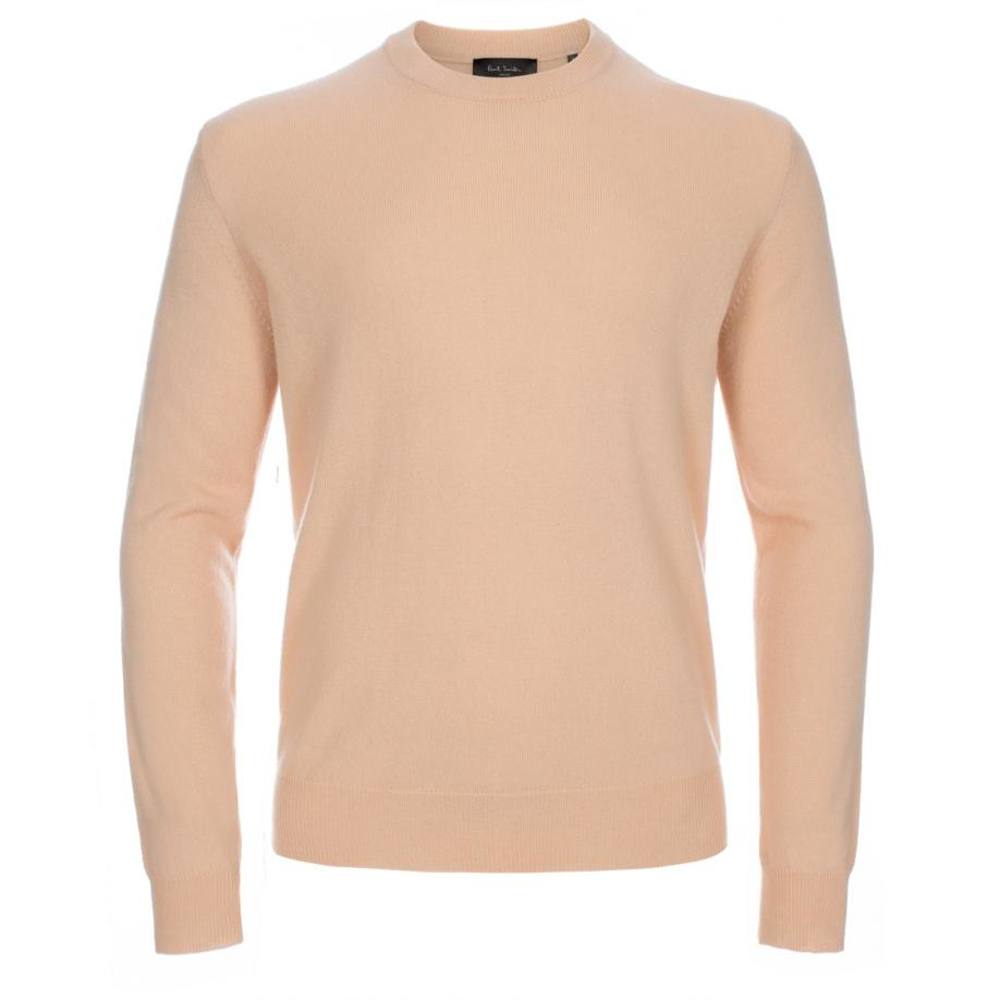 Paul smith Men's Peach Cashmere Sweater in Orange for Men | Lyst
