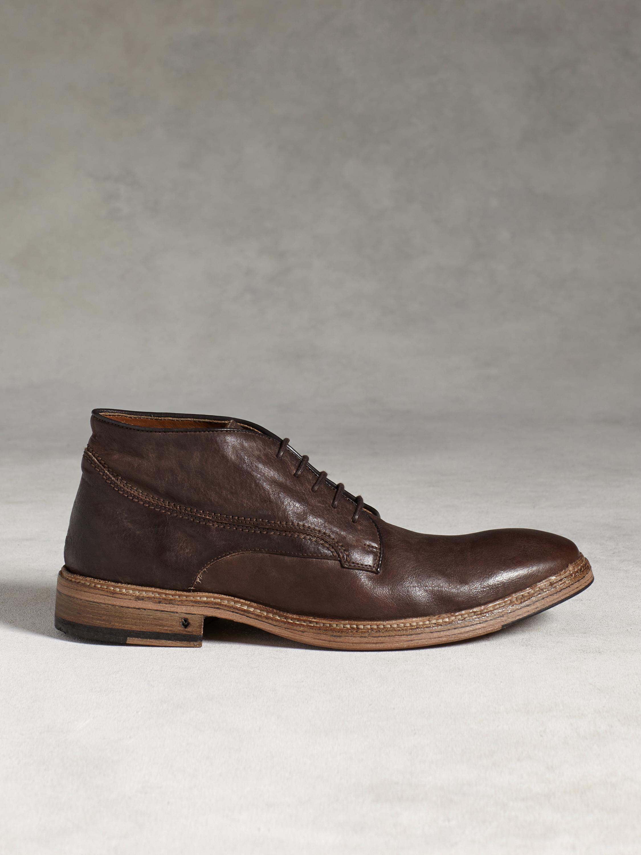 John varvatos Fleetwood Norwegian Chukka Boot in Brown for Men | Lyst