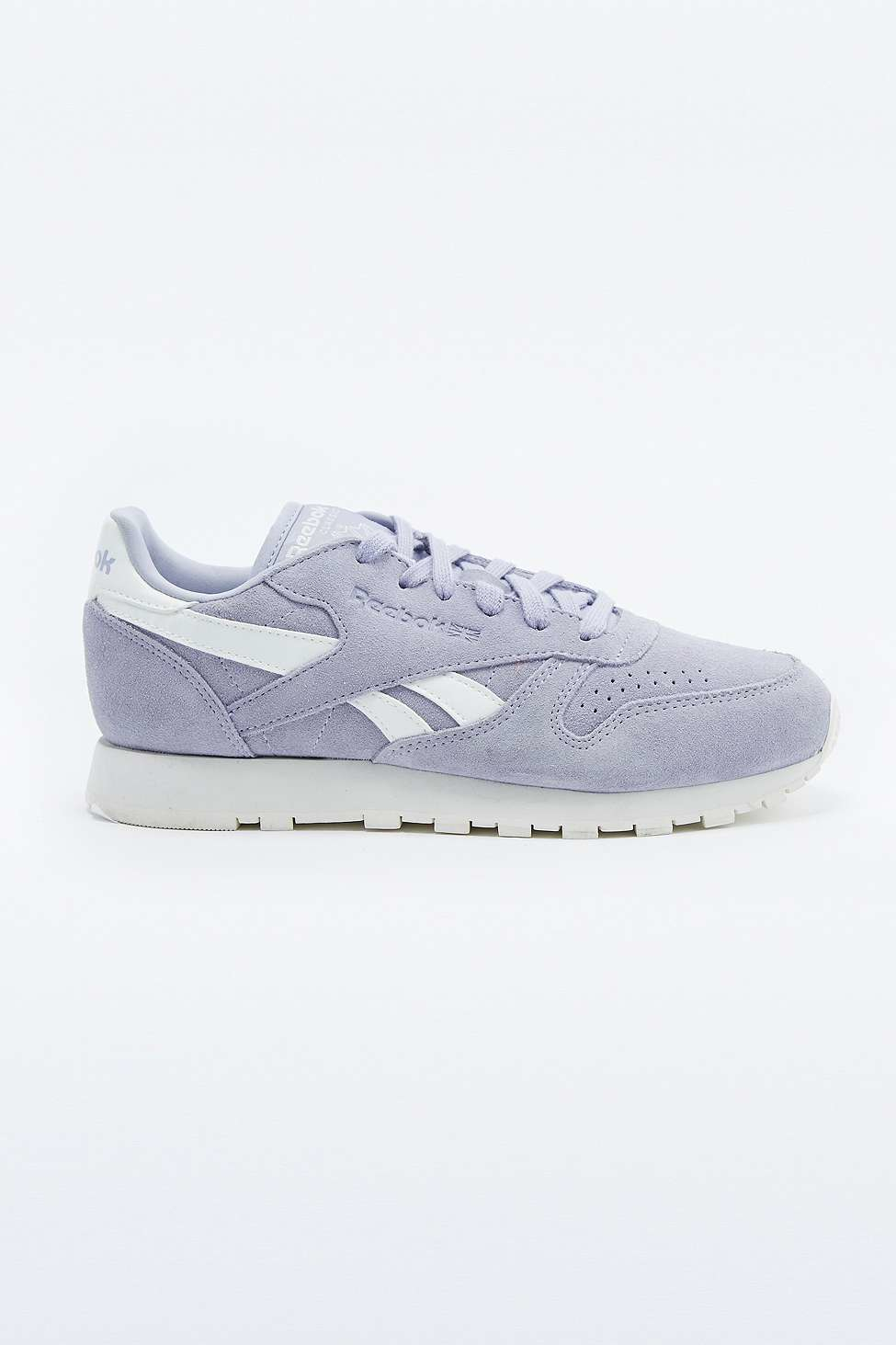 bea90ea20f9c7 Reebok Classic Lilac Suede Trainers in Purple - Lyst