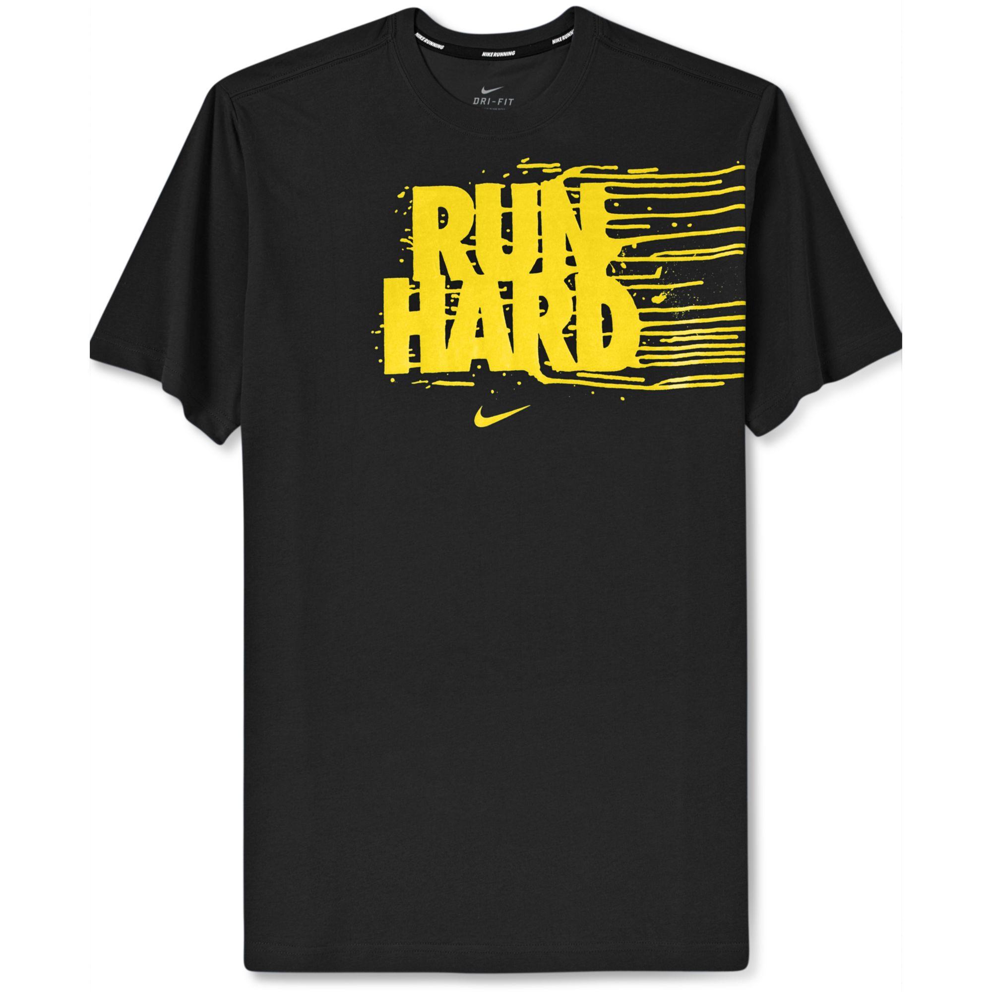 nike shirt run