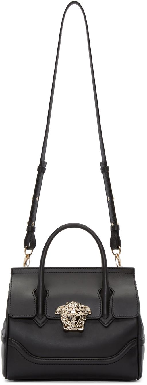 Versace Black Leather Medusa Mini Handbag lfIYMz