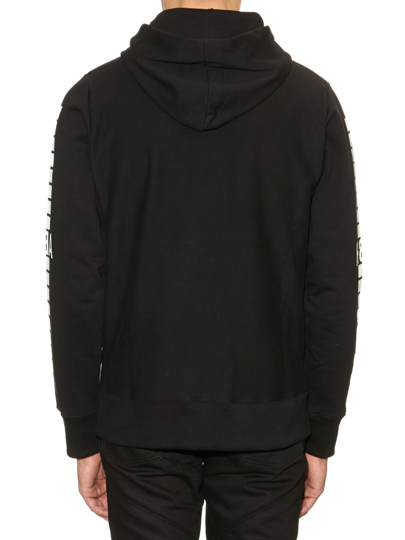 Hood Air Lines : Hood by air detroit hooded sweatshirt in black for men lyst
