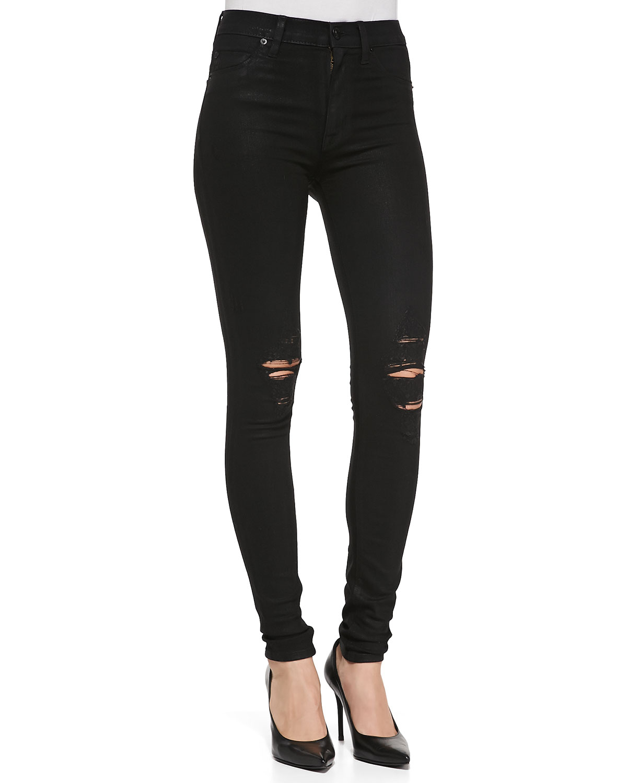 Distressed Jeans Women