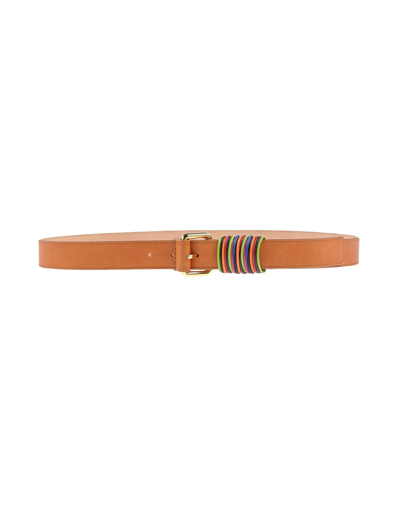 boutique moschino belt in brown lyst