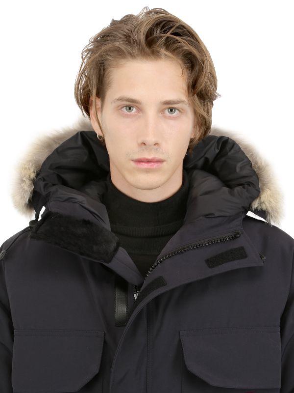 Canada Goose toronto online discounts - Canada goose Citadel Coyote Trim Down Parka in Black for Men | Lyst